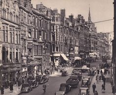Corporation Street, Birmingham, UK - view looking north-east, Old Pictures, Old Photos, Birmingham City Centre, Victorian Buildings, Walsall, Birmingham England, Old Street, West Midlands, Historical Architecture