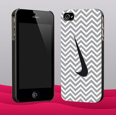 Cevron Grey With Nike for iphone 4/4s and