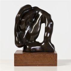 Hans Arp - Sculpture automatique (Hommage à Rodin) Jean Arp, Auguste Rodin, Sophie Taeuber, French Sculptor, Selling Paintings, Collection Of Poems, Contemporary Sculpture, Bronze, 8th Of March