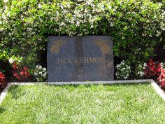 Jack Lemmon Gravesite Westwood Village Memorial Park Cemetery Old Cemeteries, Graveyards, Westwood Village, Jack Lemmon, Famous Graves, Cemetery Art, Memorial Park, After Life, Memento Mori