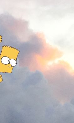 #thesimpsons #background #sky