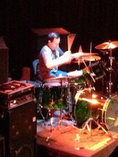 Another shot from the balcony that Misti Layne took at The Whisky a few years back. #chriswillett #drumming #drums