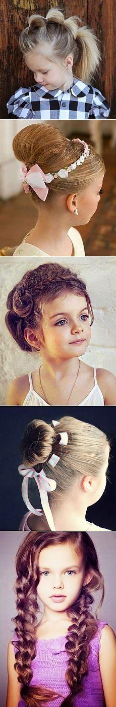 Праздничные прически для девочек. ФОТО | Твой малыш
