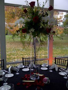 Elmhurst Art Museum Wedding -- Second Table Centerpiece Design