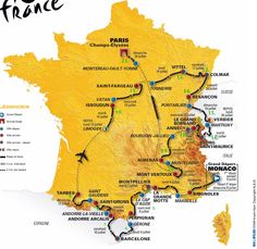 Some day my husband and I are going to travel to France and follow the tour.
