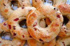 Copy cat recipe of the Pink Ribbon Bagels from Panera!  They are my favorite!