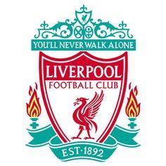 Liverpool FC Club Badge Crest Wall Vinyl Sticker