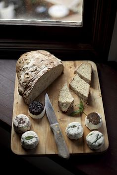 Farmer's Cheese. http://alwayswithbutter.blogspot.com/2011/12/farmers-cheese-and-rye-bread-feature.html