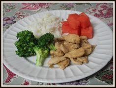 Pollo con salsa teriyaki y jengibre a mi manera