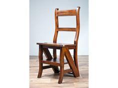Krzesło lub drabinka,mebel 2 funkcyjny. Wykonany w całości z drewna Materiał: mahoń Kolor: orzech Wymiary: 41x43x90cm Hit sprzedaży ostatnich miesięcy. Krzesełko lub drabinka. Idealne rozwiązanie do w ...
