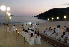 Decoraciones sencillas para tu #boda en la playa http://www.bodasmargarita.net