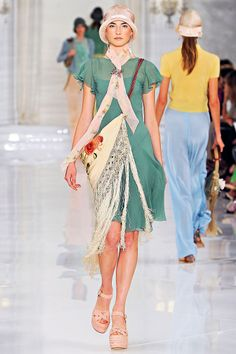 Ralph Lauren Spring 2012.. This dress is amazing!!