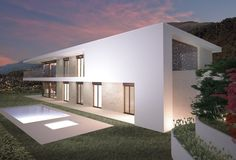 Villa Acero Rosso Cadro, CH 2015, progetto Acer, Garage Doors, Outdoor Decor, Home Decor, Decoration Home, Room Decor, Home Interior Design, Carriage Doors, Home Decoration