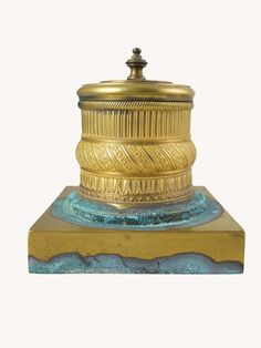 Continental Inkwell -- late 19th/early 20th, approximately 5 inches tall