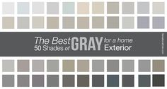The Best Shades Of Gray Paint For A Home Exterior | DaVinci Roofscapes