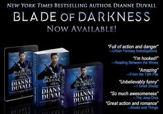 "BLADE OF DARKNESS is Now Available in #paperback, #ebook and #audiobook! Return to the ""utterly addictive"" (RT Book Reviews) Immortal Guardians. https://www.amazon.com/gp/product/B073V23CGT/ref=as_li_tl?ie=UTF8&camp=1789&creative=9325&creativeASIN=B073V23CGT&linkCode=as2&tag=dianduva-20&linkId=39e2eb34e792c44bcf85de867b0b12b2 #paranormalromance #action #humor #comedy #mustread"