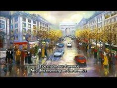 """Herkese güzel bir Joe Dassin şarkısıyla günaydın !  """"Champs-Elysées'de her zaman ne ararsanız var"""""""