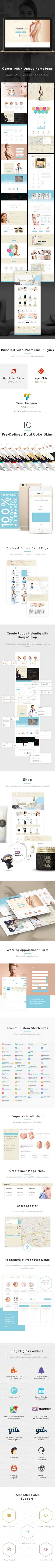 #1 Medical WordPress Theme for Plastic Surgeons and Cosmetic Clinics Searching for a Medical & Health theme for your Cosmetic Clinic or Plastic Surgery Website? One Life is a versatile theme that i...