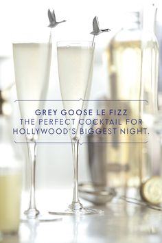 Sip like the stars with Grey Goose Le Fizz. Pour 1 ½ Parts GREY GOOSE® Vodka, 1 Part St-Germain Elderflower Liqueur and ¾ Part Fresh Lime Juice into a cocktail shaker. Shake over ice and double straight into a chilled flute. Top with 2 Parts Chilled Soda Water.