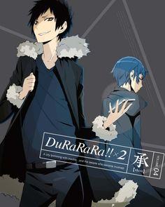 Durarara!!x2 Shou DVD Cover vol 4