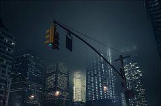 New York City by loic le quéré, via Behance