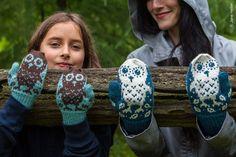 My Owl Barn: Horatio and Oren: Owl Mittens