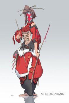 ArtStation - character line up 04, moxuan zhang