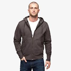 Classic Full Zip Sweatshirt | American Giant $89 Top rated zip hoodie