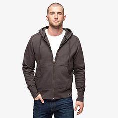 Classic Full Zip Sweatshirt   American Giant $89 Top rated zip hoodie