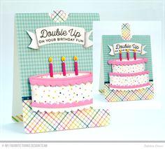 Birthday Fun: MFT Twice the Wishes Kit - Thinking Inking