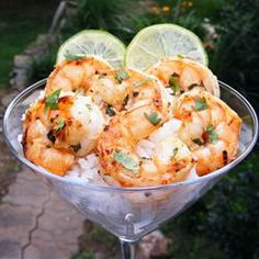 Margarita Grilled Shrimp - Mom Cooking