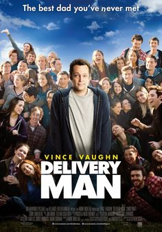 It has an undeniably sweet charm, and Vince Vaughn is eminently likable in the lead role, but The Delivery Man suffers in comparison to Starbuck, the hit Canadian comedy that inspired it. Movies 2014, Man Movies, Funny Movies, Movies To Watch, Latest Movies, Really Good Movies, Love Movie, Great Movies, Movie Tv
