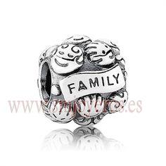 Charm Pandora de plata de ley. Familia. REFERENCIA: PA791039 Fabricante: Pandora