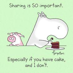 Sandra Boynton - A vital reminder on CHOCOLATE CAKE DAY (January 27).