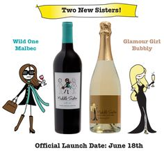 So excited bout these! ~ Middle Sister Wine