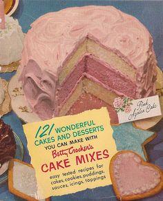 Betty Crocker Cake Mixes