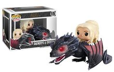 Game Of Thrones Funko POP! New Releases Star Daeny On Drogon & Night King -  #funko #gameofthrones