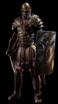 Ancient Armor, Medieval Armor, Medieval Fantasy, Armadura Medieval, Ryse Son Of Rome, Roman Armor, Rome Antique, Roman Warriors, Roman Legion