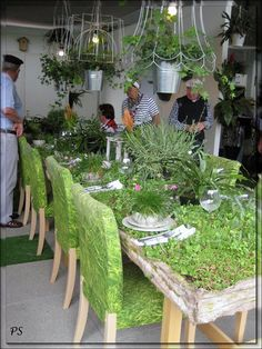 Green table at Floriade 2012