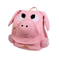 Let your little one carry their school books in a unique pig backpack. The bag is large enough to carry multiple books at once and they have wheels built into the bottom of them making it easy for children to carry their books back and forth to school.