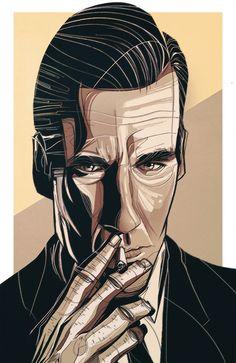 Don Draper by César Moreno