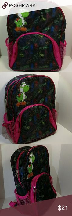 Yoshi Super Mario Bros Backpack Brand New in Great Condition Mario Brothers Bags Backpacks