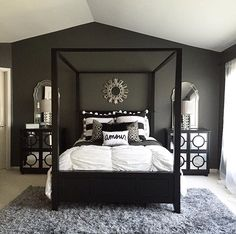 Master Bedroom Four Poster Bed