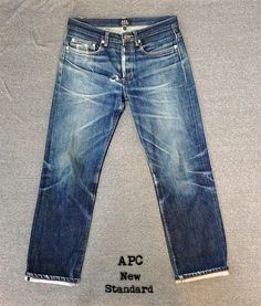 APC - New Standard's after 1.5 years, 4 Soaks & 2 Washes. These jeans belong…