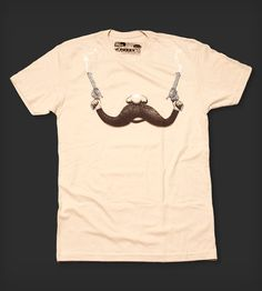 Handlebar Holdup - Men's Crew Neck by Fuzzy Ink on Scoutmob Shoppe