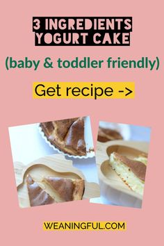 If you're doing baby led weaning, then this easy and quick cake is a great option for breakfast, lunch or dinner, or as a snack on the go or for lunchboxes. You can cut it in finger shapes or triangles like pizza. Healthy Baby Food, Healthy Meals For Kids, Meals For One, Kids Meals, Baby Meals, Healthy Recipes, Baby First Foods, Baby Finger Foods, Toddler Meals