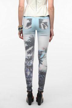 SOLD Design Lab Tropical Soho Skinny Jean