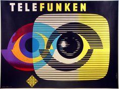 Telefunken Television * Jacques Nathan Garamond (1965)