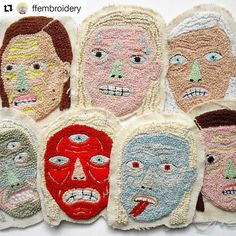 How ya feeling about Monday? #regram @ffembroidery 2015 girl gang (there is one missingtoo lazy to search just now) I've posted parts of these in the past but never a proper class photo like this oh and some are a bit cut out so just use your imagination to fill in the other half of their faces #handembroidery #Monday #girlgang #face #portraiture #creativityfound #mrxstitch via The Mr X Stitch official Instagram Share your stitchy 'grams with us - @mrxstitch #xstitchersofinstagram #mrxstitch