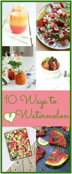10 Ways to Love Wate